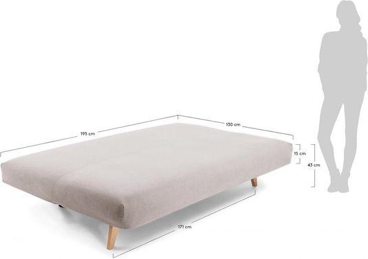 bezug f r kika couch hellgrau stoff la forma kaufen. Black Bedroom Furniture Sets. Home Design Ideas